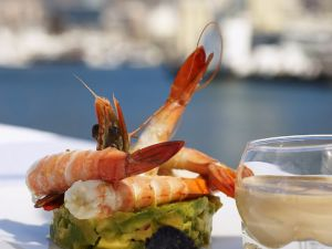 Shrimps mit Avocado Rezept