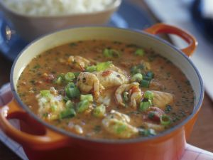 Shrimpseintopf mit Kokosmilch auf Brasilianische Art Rezept