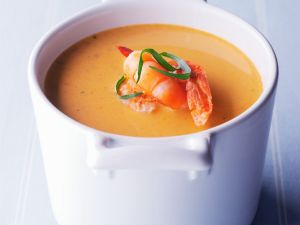 Shrimpssuppe Rezept