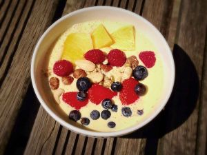 Trend-Food Smoothie Bowl