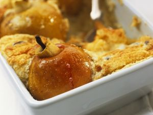 Soufflé mit Bratäpfeln Rezept