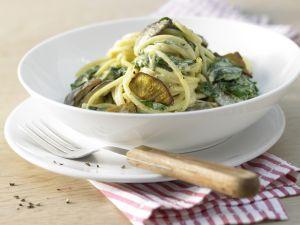 Spaghetti mit Mangold Rezept