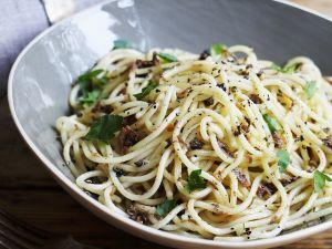 Spaghetti mit Trüffelpaste Rezept