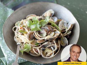 Spaghetti Vongole mit asiatischen Aromen – Fusionsküche vom Feinsten