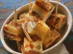 Spanische Tortilla mit Gemüse Rezept