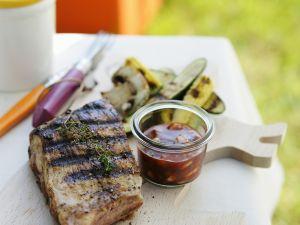Spareribs vom Grill mit Barbecue-Soße Rezept