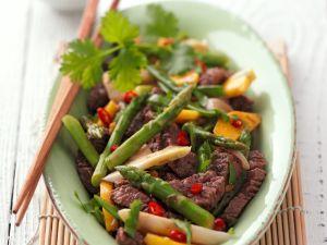 Spargel asiatisch Rezept