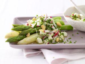Kochbuch für vegetarische Spargerezepte