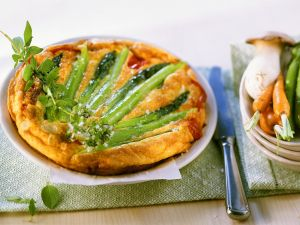 Spargel-Frittata Rezept