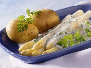 Spargel mit Kartoffeln Rezept