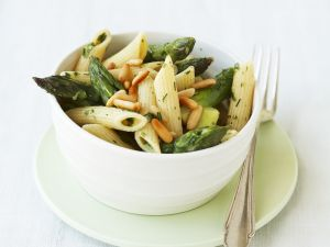 Spargel-Pasta-Salat Rezept