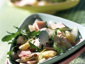 Spargel-Rauke-Salat Rezept