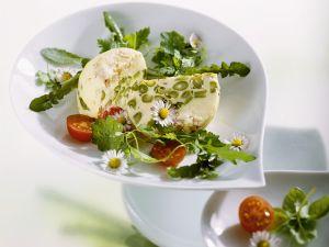 Spargelauflauf mit Salat Rezept