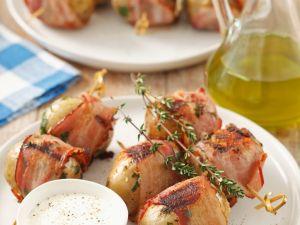 Speck-Kartoffeln vom Grill Rezept