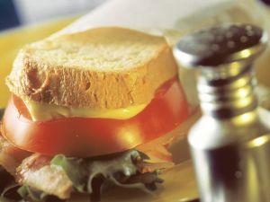 Speck-Sandwich Rezept