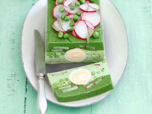Spinat-Erbsen-Terrine Rezept