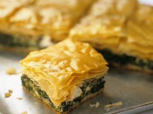 Spinat-Feta-Kuchen Rezept