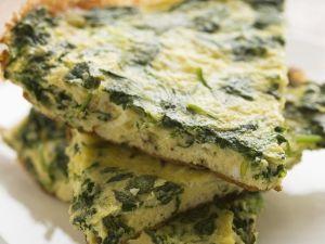 Spinat-Frittata Rezept