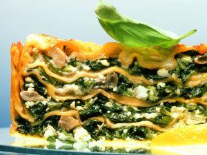 Spinat-Käse-Lasagne Rezept