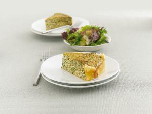 Spinat-Lachs-Kuchen Rezept