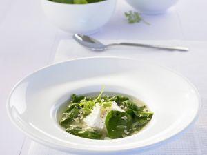Spinat-Parmesan-Suppe Rezept