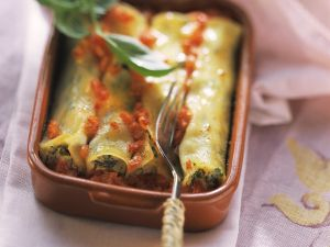 Spinat-Ricotta-Cannelloni Rezept
