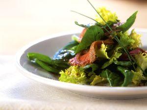 Spinatsalat mit Lamm Rezept