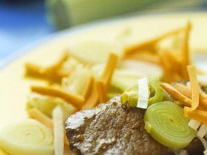 Steak mit Gemüse Rezept