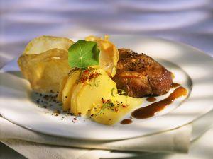 Steak vom Strauß Rezept