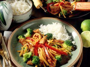 Steckrüben auf asiatische Art Rezept