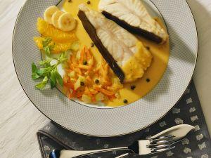 Steinbutt mit Currysauce Rezept