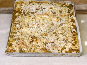 Streuselkuchen mit Mirabellen Rezept