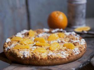Streuselkuchen mit Orangen Rezept