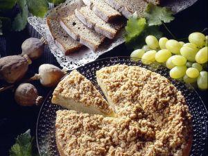Streuselkuchen mit Weintrauben Rezept