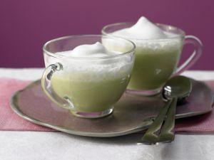 Süppchen von grünem Spargel Rezept