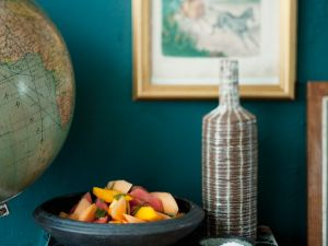 Süß-pikanter Obstsalat Rezept