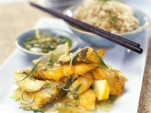 Süß-saures Fischfilet Rezept