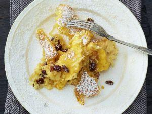 Süßer Polentagratin mit Apfel und Rosine Rezept