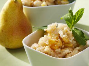 Süßes Couscous mit Früchten Rezept