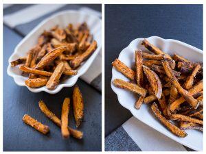 Süßkartoffel-Pommes: knusprig ohne Fritteuse