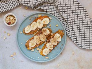 Süßkartoffel-Toast: Krosser Brotersatz