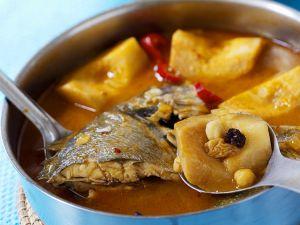 Suppe mit Dorade und Quitten Rezept