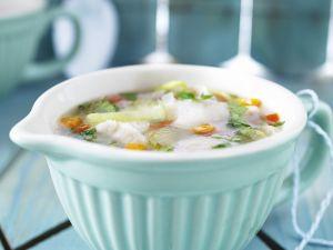 Suppe mit Fisch Rezept