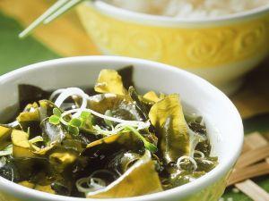 Suppe mit Seetang Rezept