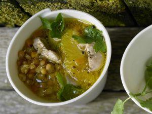 Suppe mit roten Linsen Rezept