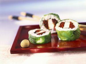 Sushi auf italienische Art Rezept