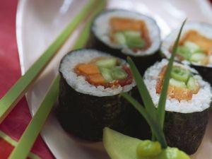 Sushi mit Thunfisch Rezept