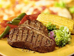 T-Bone-Steak vom Grill Rezept