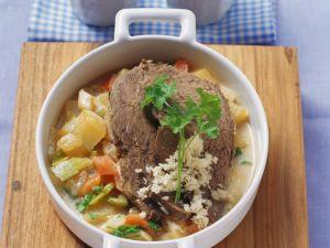 Tafelspitz mit Kartoffeln und Kren Rezept