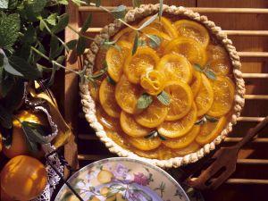 Tarte mit Orangen Rezept